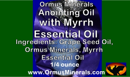 Anointing Oil Myrrh