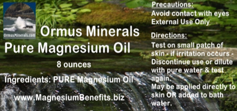 Ormus Minerals PURE Magnesium Oil 8 ounces
